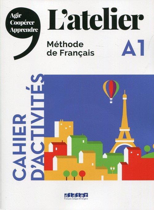 Atelier A1 Ćwiczenia (+ CD) - okładka podręcznika