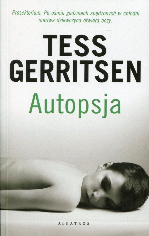 Autopsja - okładka książki