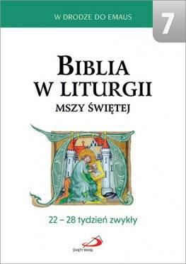 Biblia w liturgii Mszy Świętej. - okładka książki