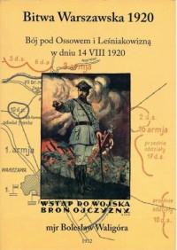 Bitwa Warszawska 1920 r. - Bój - okładka książki