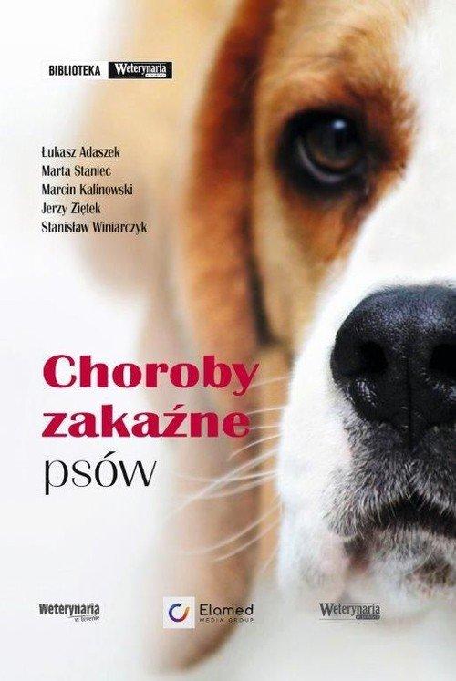 Choroby zakaźne psów - okładka książki