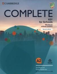 Complete Key for Schools A2 Workbook - okładka książki