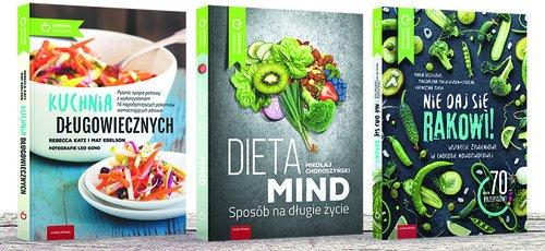 Dieta antynowotworowa. KOMPLET - okładka książki