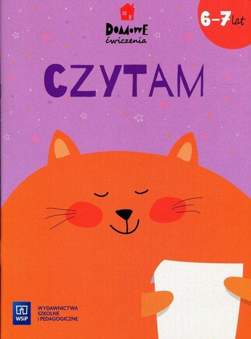 Domowe ćwiczenia. Czytam 6-7 lat - okładka książki