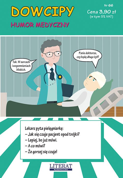 Dowcipy. Nr 66. Humor medyczny - okładka książki