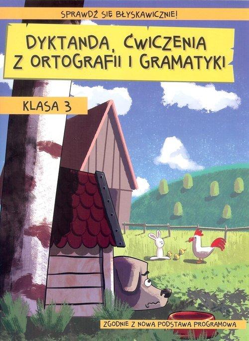 Dyktanda ćwiczenia z ortografii - okładka podręcznika