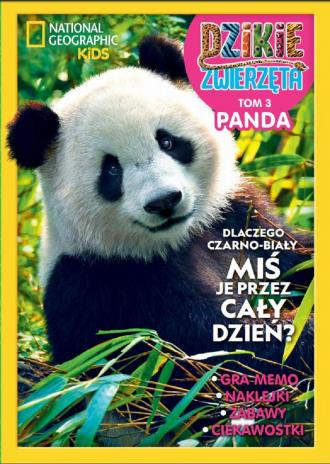 Dzikie Zwierzęta Panda. Tom 3 - okładka książki