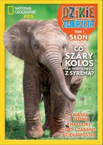 Dzikie Zwierzęta. Słoń. Tom 1 - okładka książki