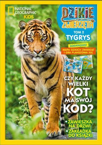 Dzikie Zwierzęta Tygrys. Tom 2 - okładka książki