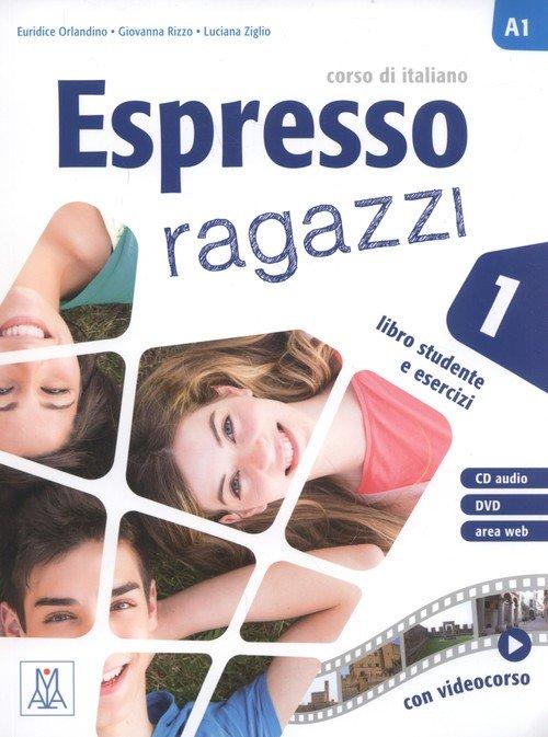 Espresso ragazzi 1. Libro studente - okładka podręcznika