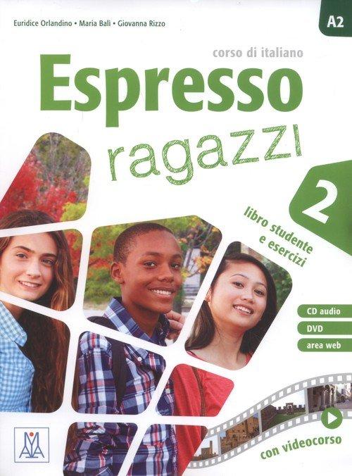 Espresso ragazzi 2. Libro studente - okładka podręcznika