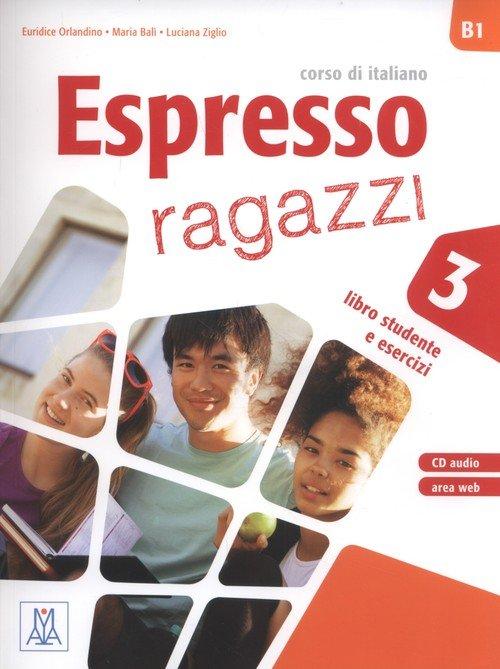 Espresso ragazzi 3. Libro studente - okładka podręcznika