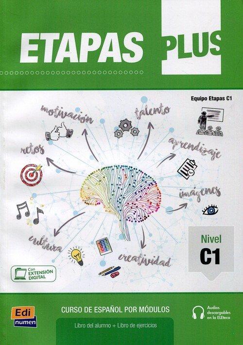Etapas plus C1. Podręcznik + ćwiczenia - okładka podręcznika