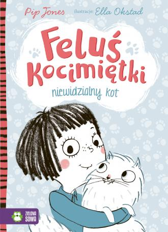 Feluś Kocimiętki. Niewidzialny - okładka książki