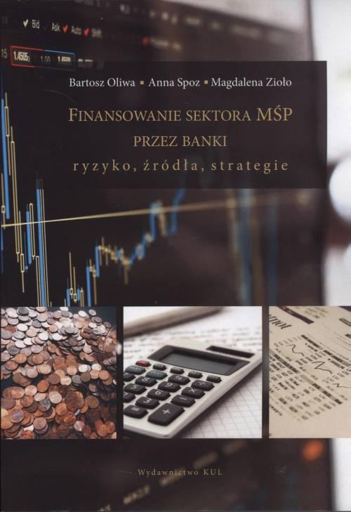 Finansowanie sektora MŚP przez - okładka książki