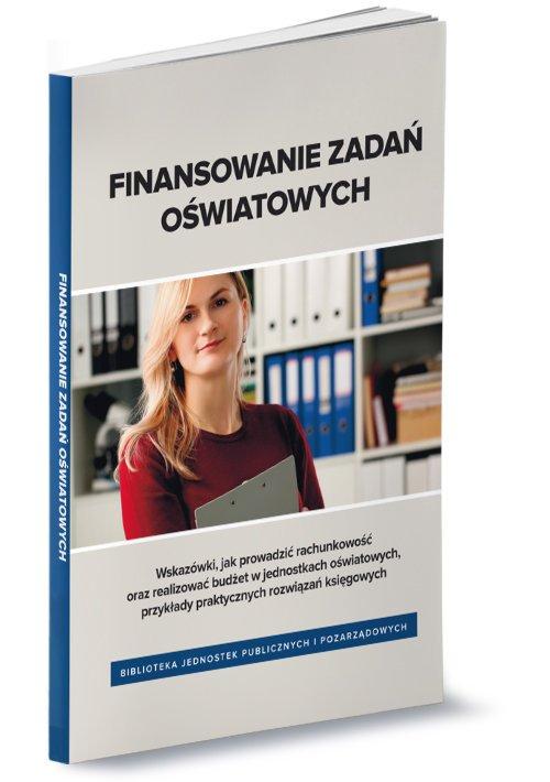 Finansowanie zadań oświatowych - okładka książki