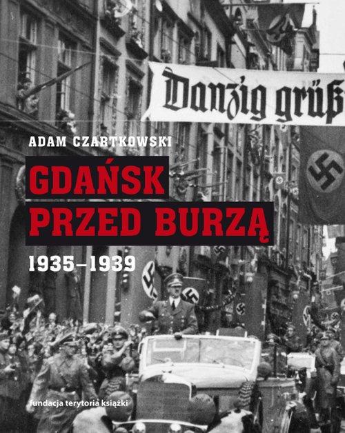 Gdańsk przed burzą. Korespondencja - okładka książki
