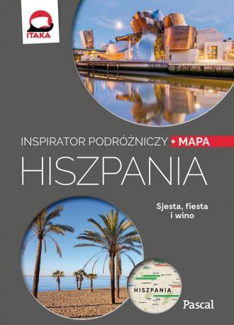 Hiszpania. Inspirator podróżniczy - okładka książki