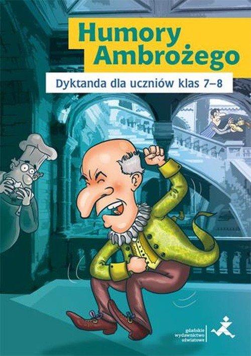 Humory Ambrożego. Dyktanda dla - okładka podręcznika