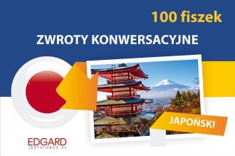 Japoński. Fiszki 100. Zwroty konwersacyjne - okładka podręcznika