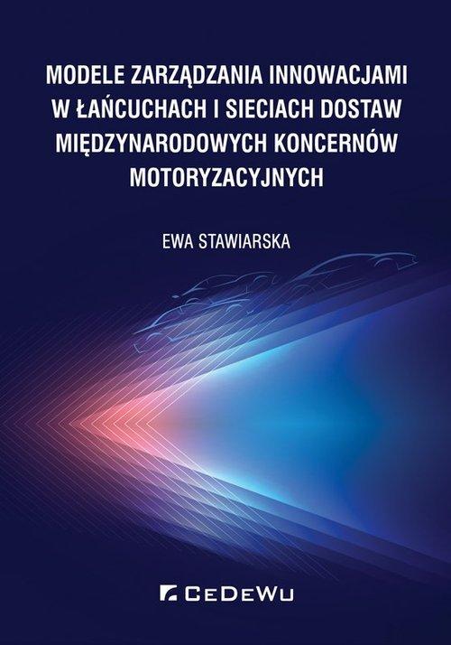 Modele zarządzania innowacjami - okładka książki