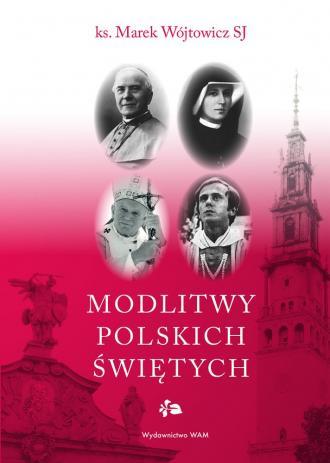 Modlitwy polskich świętych - okładka książki