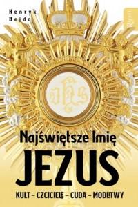 Najświętsze Imię Jezus - okładka książki