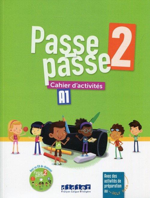 Passe-Passe 2. Ćwiczenia A1 (+ - okładka podręcznika