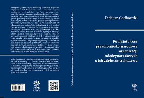 Podmiotowość prawnomiędzynarodowa - okładka książki