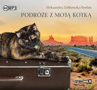 Podróże z moją kotką - pudełko audiobooku