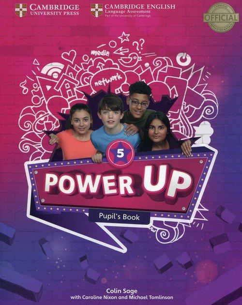 Power Up Level 5. Pupils Book - okładka podręcznika