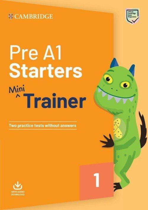 Pre A1 Starters Mini Trainer with - okładka książki