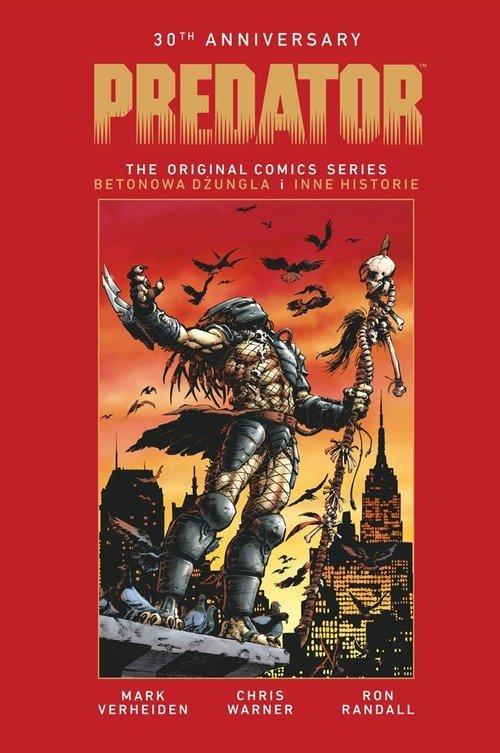 Predator 30th Anniversary. Betonowa - okładka książki