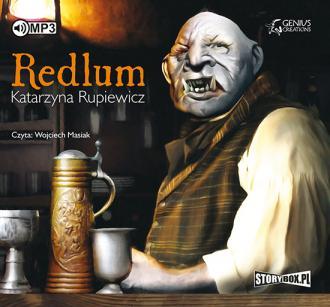 Redlum - pudełko audiobooku