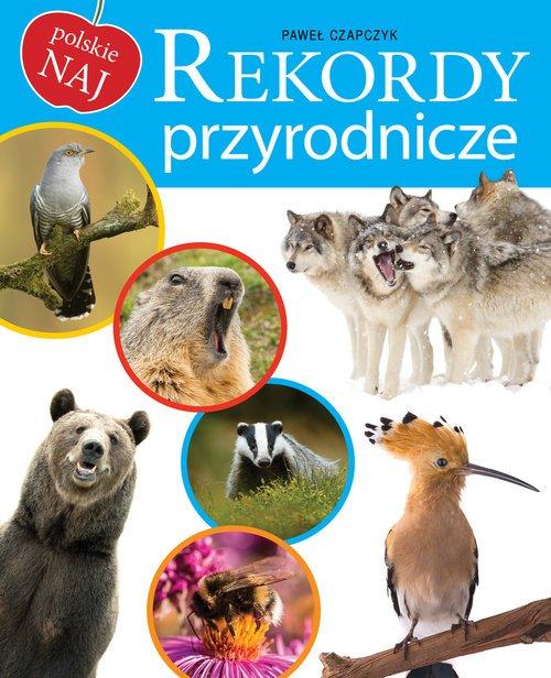 Rekordy przyrodnicze - okładka książki