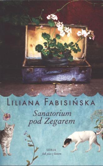 Sanatorium pod zegarem - okładka książki