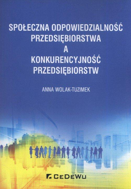 Społeczna odpowiedzialność przedsiębiorstwa - okładka książki