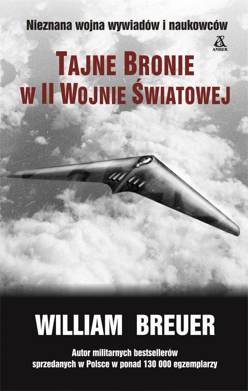 Tajne bronie w II wojnie światowej - okładka książki