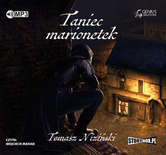 Taniec marionetek - pudełko audiobooku