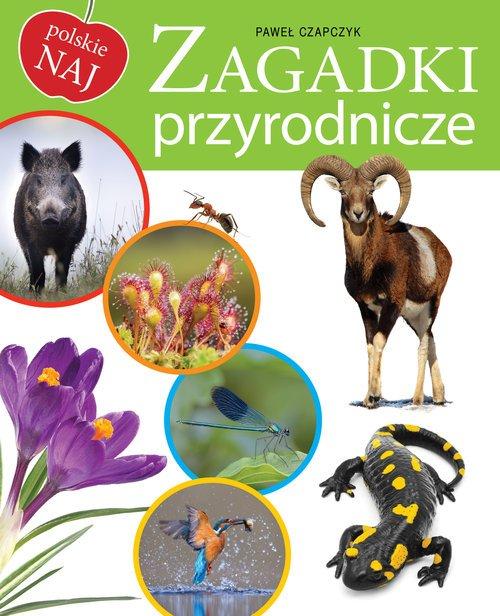 Zagadki przyrodnicze - okładka książki