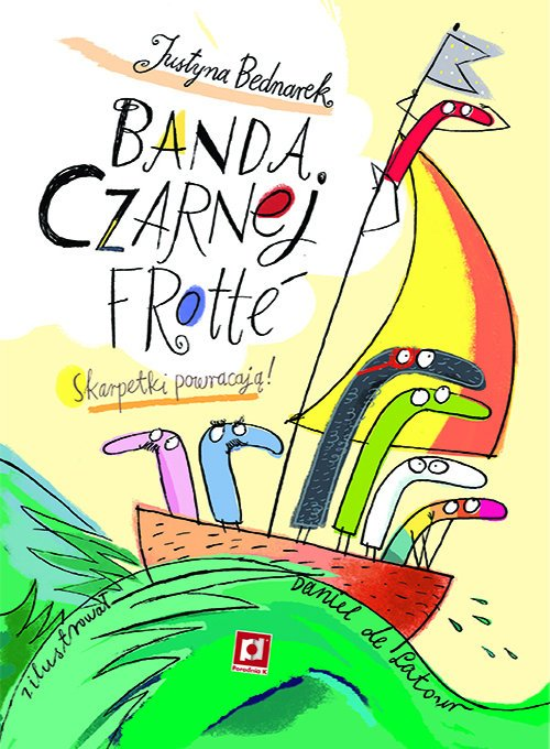 Banda Czarnej Frotte - okładka książki