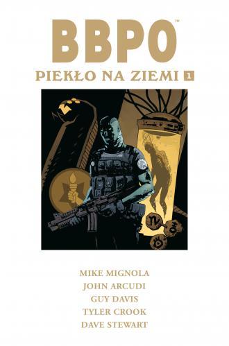 BBPO Piekło na Ziemi Tom 1 - okładka książki