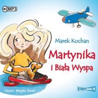 Martynika i Biała Wyspa (CD mp3) - pudełko audiobooku