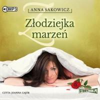 Złodziejka marzeń (CD mp3) - pudełko audiobooku