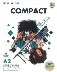 Compact Key for Schools A2 Students - okładka podręcznika