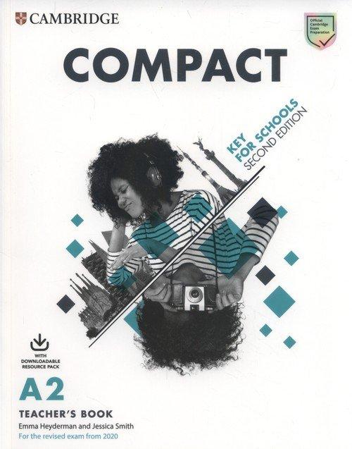 Compact Key for Schools Teachers - okładka podręcznika