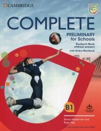 Complete Preliminary for Schools - okładka podręcznika