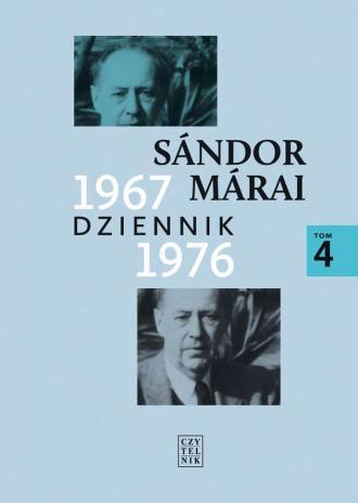 Dziennik 1967-1976. Tom 4 - okładka książki