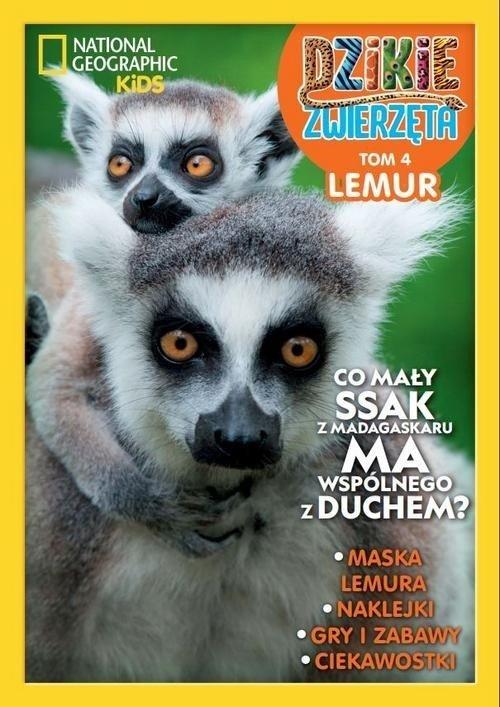 Dzikie Zwierzęta 4. Lemur - okładka książki