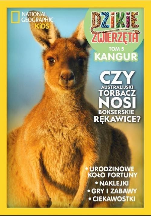 Dzikie Zwierzęta 5. Kangur - okładka książki